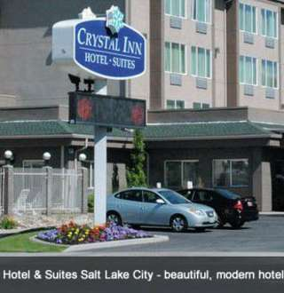 DTN Crystal Inn Hotel & Suites Salt Lake City - beautiful, modern hotel located in the center of downtown.