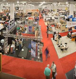 Salt Palace Convention Center exhibit halls