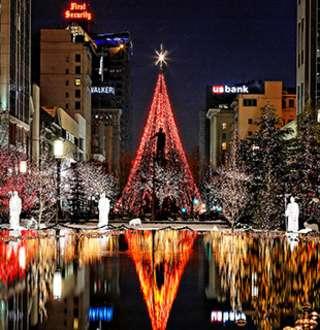 Salt Lake Festival of Lights, Christmas Lights on Temple Square