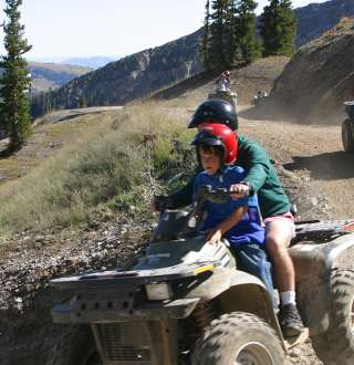 ATV Riding at Snowbird