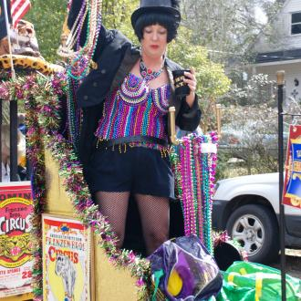 Mardi Gras - Krewe of Push Mow in Abita Springs