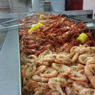 Shrimp and Crawfish at House of Seafood