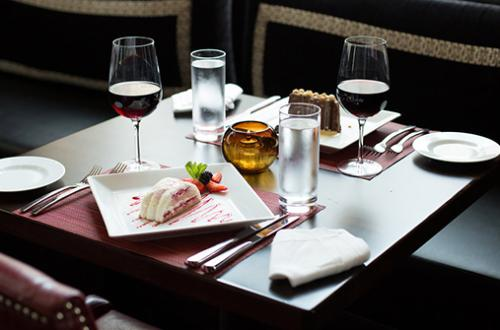 Table Setting at Siena Tuscan Steakhouse