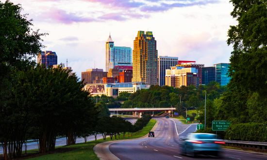 Raleigh N.C. Skyline