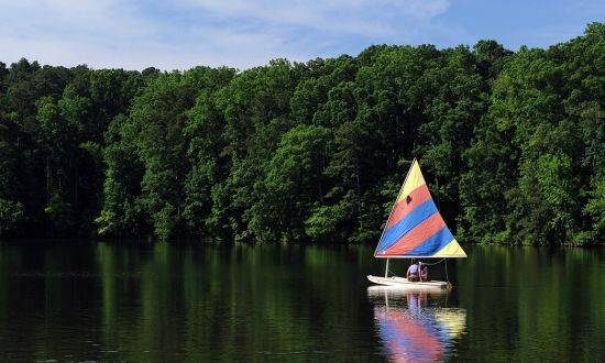 Lake Crabtree Sailing