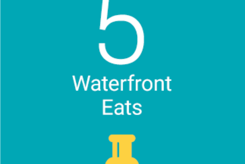 5 Waterfront Eats
