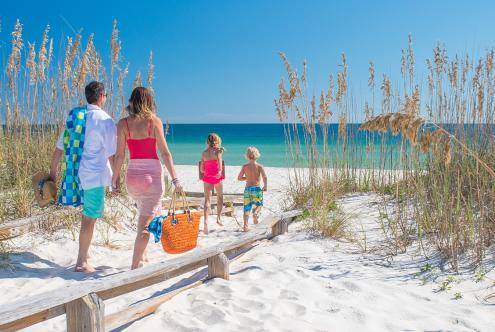 Pensacola Beach in perfect for families