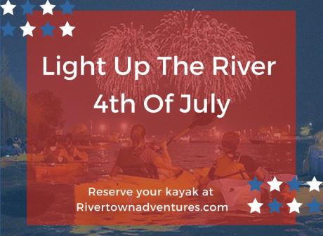 River Town Adventures Light Up the River