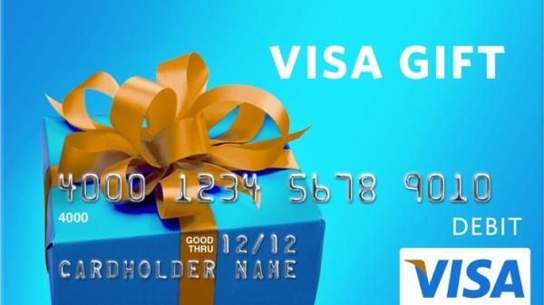 Slider: Visa Gift Card