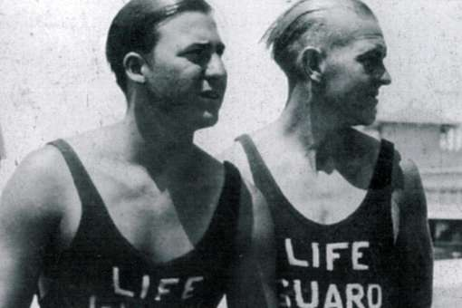 First HB Lifeguards Bud and Gene