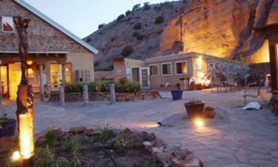 Ojo Caliente New Mexico Tourism Hotels Restaurants