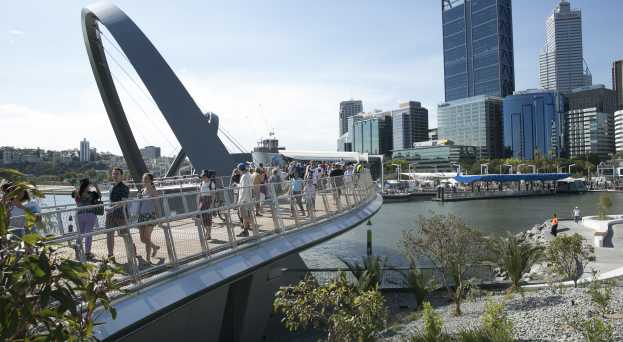 Conference and event support elizabeth quay bridge fandeluxe Choice Image