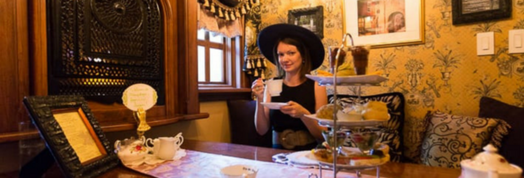 Afternoon Tea in Albuquerque: The St. James Tearoom
