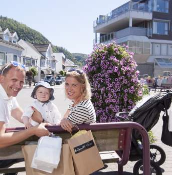 Shopping in Lyngdal Norway