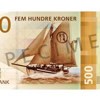 500 kroner (forside / obverse side)