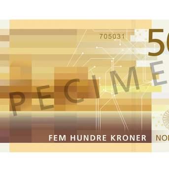 500 kroner (bakside / reverse side)
