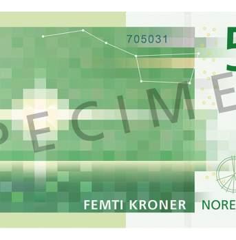 50 kroner (bakside / reverse side)