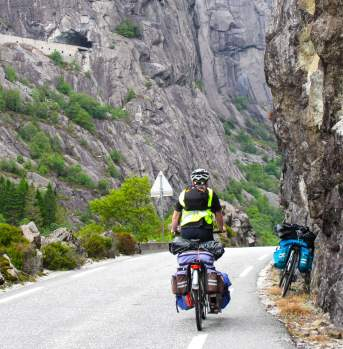 Biking vacation in Norway