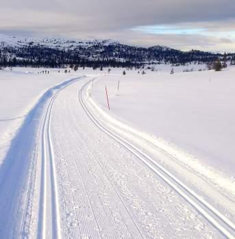 Skitur på Sangefjell, Ål i Hallingdal