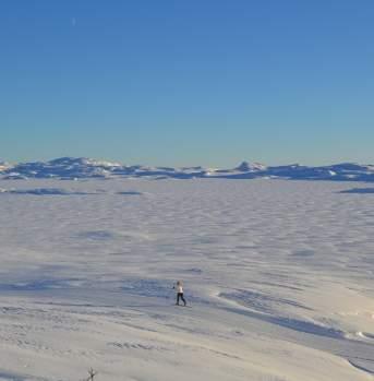 Skitur i Bergsjøområdet, Ål i Hallingdal