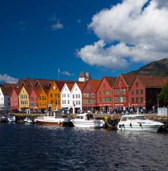 Hanseatic wharf in Bergen