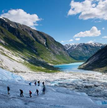 Trip to Nigardsbreen glacier