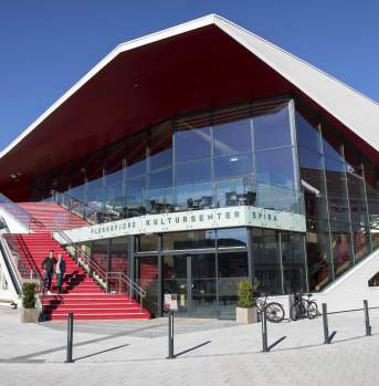 Spira culture centre in Flekkefjord