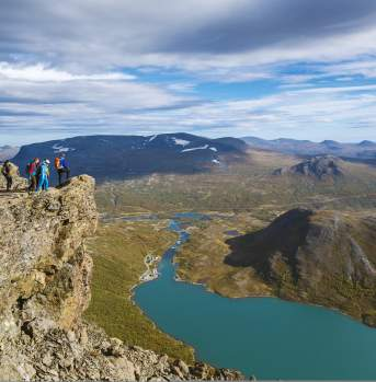Hike over the Besseggen ridge