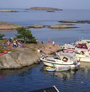 Østre Flatholmen in Grimstad, Norway