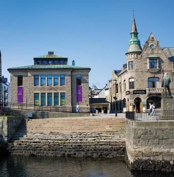 The Art Nouveau Centre (Jugendstilsenteret) in Ålesund