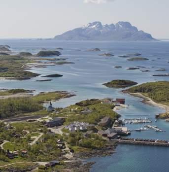 Kjerringøy, view on the sea