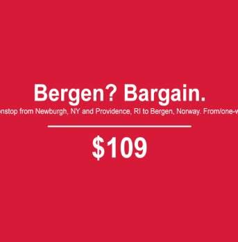 Bergen? Bargain