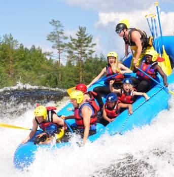 Rafting hos Troll Aktiv