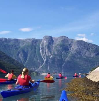 Seakayaking in Eidfjord