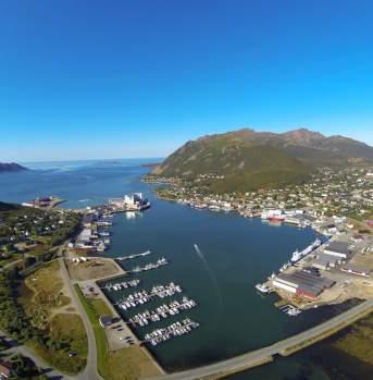 Myre Havn, Vesterålen in Northern Norway