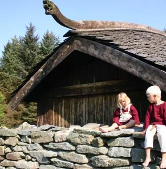 Viking farm on Bukkøy