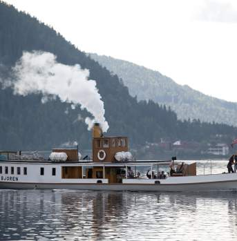 D/S Bjoren a wood-fired steamer from 1867