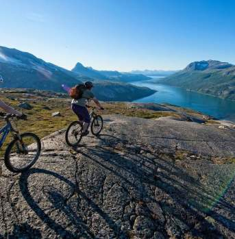 MTB adventure in Narvik, Northern Norway
