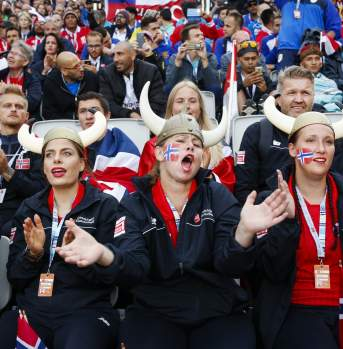 The Oslo 2017 Homeless World Cup