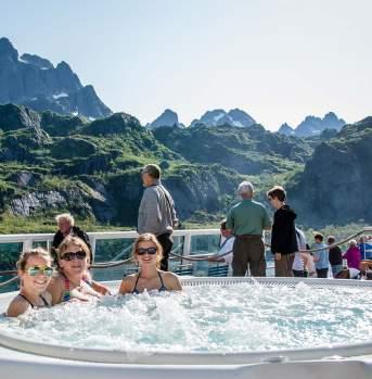 Hurtigruten Hot Tub