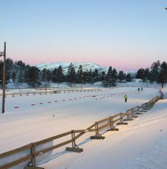 Hovden cross country arena