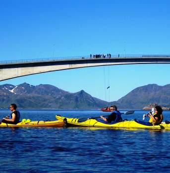 Kayak incentive Lofoten