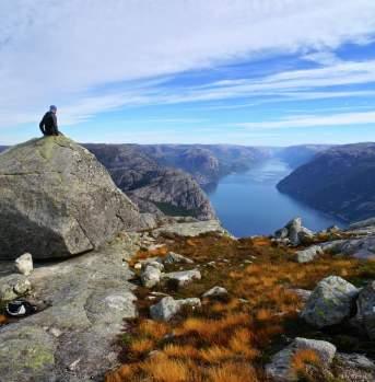 Viewpoint Lysefjorden
