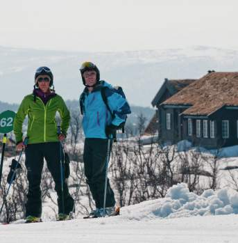 Skiing at Geilo