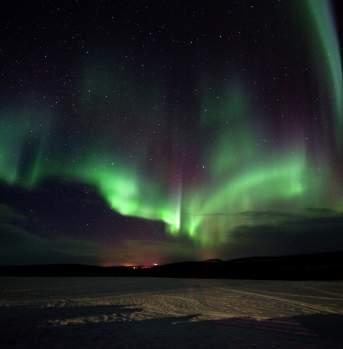 Northern lights at Kautokeino, Finnmark, Aurora borealis