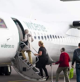 Kystriksveien by plane