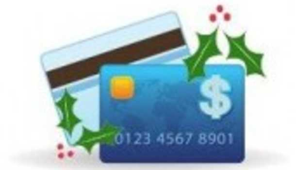 Holiday credit cards