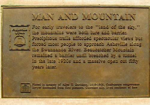 Man and Mountain