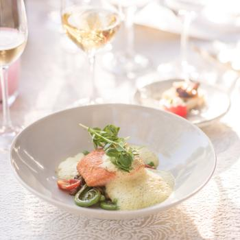 Food and White Wine Pairing in Napa Valley