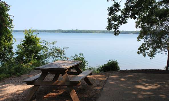 Lakeside Picnic Table